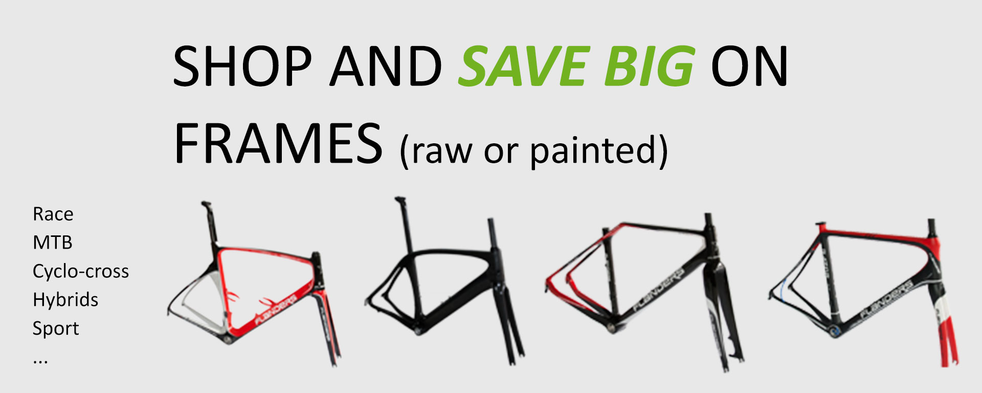 Shop now and save big on frames