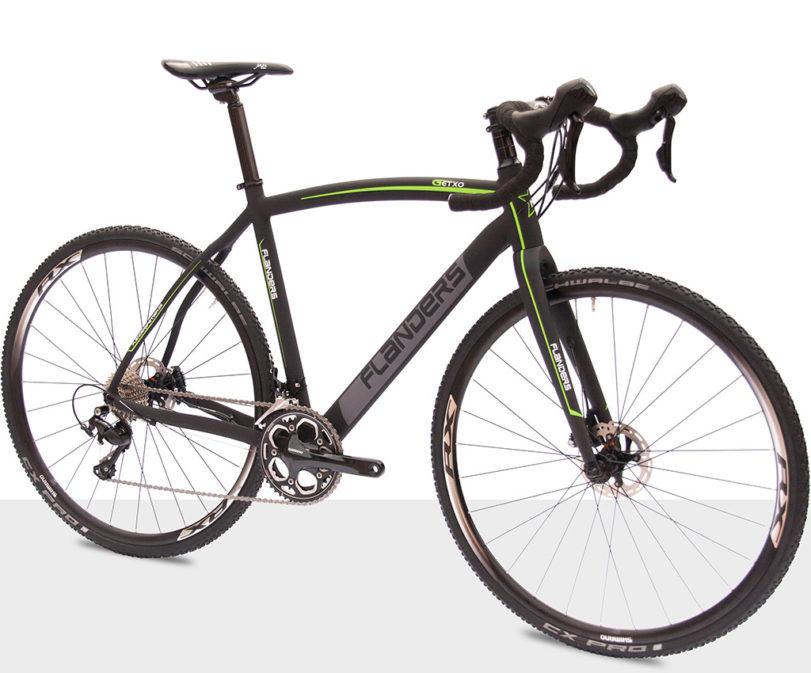 Flanders cyclo-cross Getxo disc Shimano 105 R7020