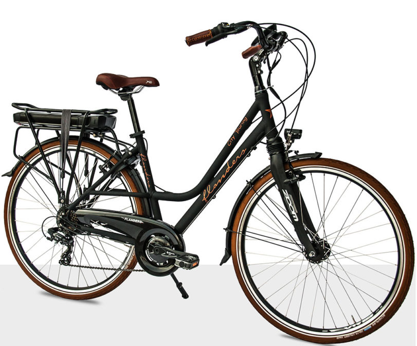 Flanders e-bike city touring